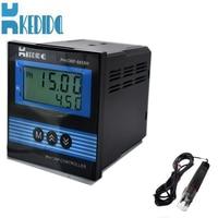 CT-6658 industrial pH meter Online PH meter LCD Display ph meter with CT-1001 Ph Electrode
