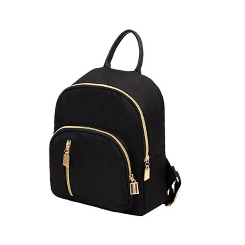 Black Women Backpacks Nylon Backpack For Women Big Capacity Student School Bags mochila feminina Large Travel Bagpack & Backpack 2017 backpack laptop bag mochila masculina men large capacity nylon compact men s backpacks unisex women bagpack school bags