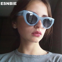2016 Sexy Sunglasses For Women UV400 Lunette De Soleil Femme Lady Glasses Oculos Feminino Cateye Women