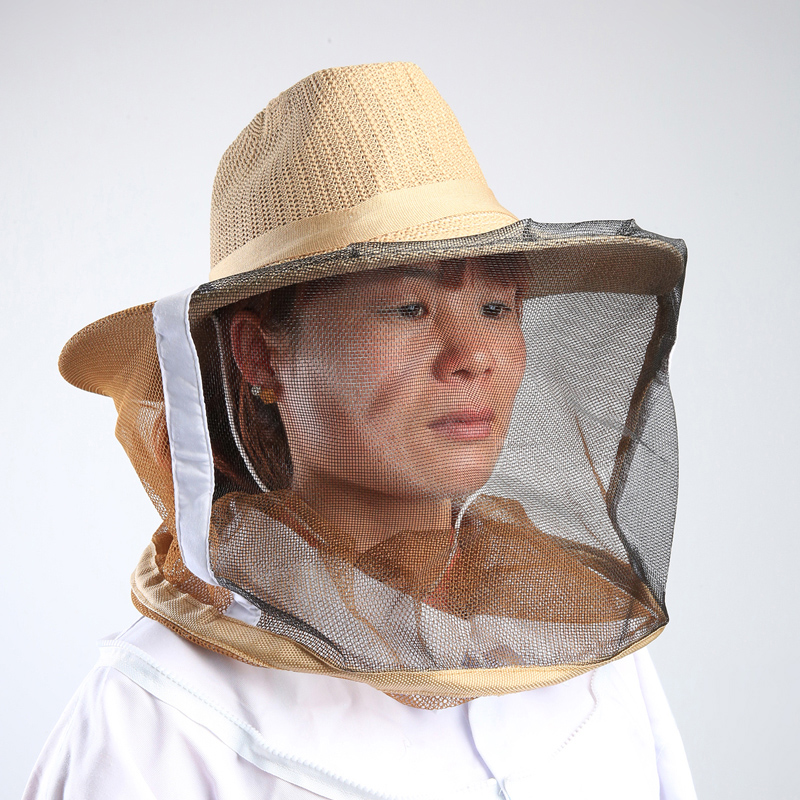 The export of high-quality anti bee hat beekeeping supplies export-oriented durable protection bee bee hat