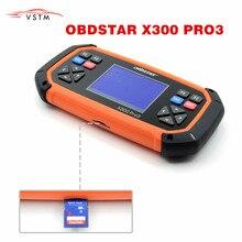 OBDSTAR X300 PRO3 מפתח מאסטר עם אימובילייזר מד מרחק התאמת EEPROM/PIC OBDII עם המחיר הטוב ביותר