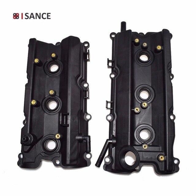 cbb95d4e86e ISANCE Left  Right Pair Engine Valve Cover Gasket 13264-AM610 13264-AM600  For Nissan 350Z   Infiniti G35 M35 FX35 V6 3.5L VQ35DE