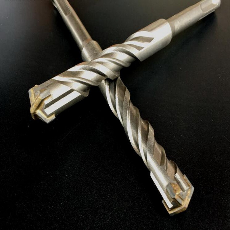 28mm x 235mm Long Hardened Steel Auger Drill Bit Loops Hex Shank//Shaft Woodwork Timber