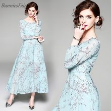 18074e80c419f Light Blue Floral Dress Promotion-Shop for Promotional Light Blue ...