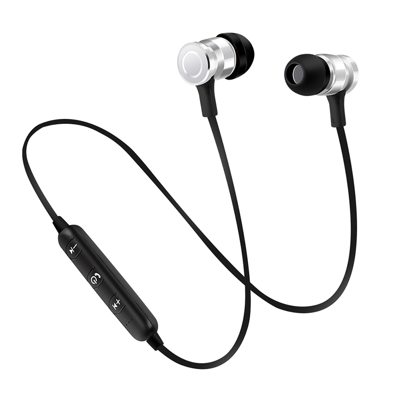 Portable Wireless Bluetooth Earphone Mini Earbuds Stereo Bass Magnet Music Handsfree Headphone for smartphone NEW