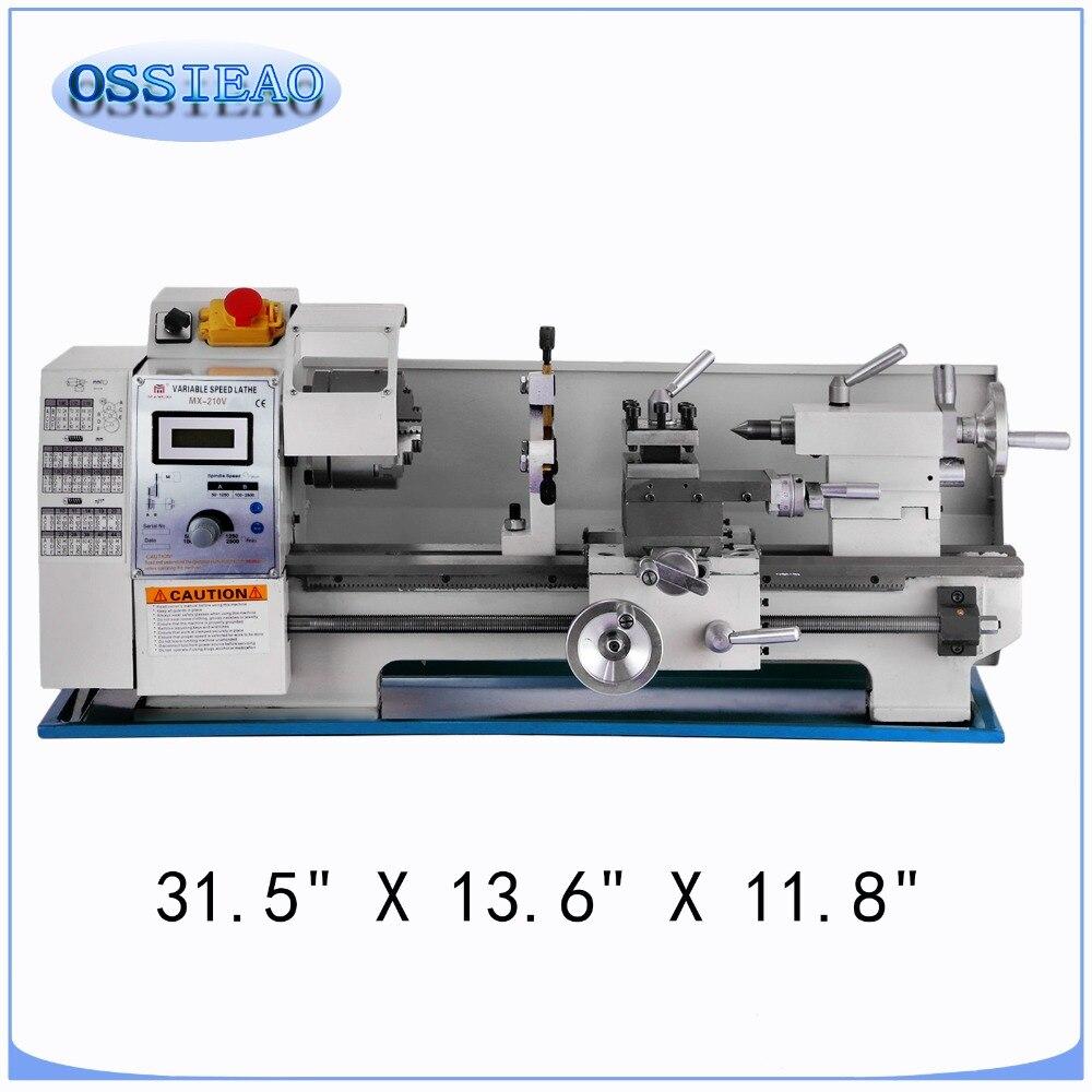 8x16 Inch Metal Processing Variable Speed Lathe Metal Lathe