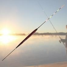 Phao câu cá + Pin Ban Đêm Điện Tử Luminuous LED Ánh Sáng Giải Quyết Glow Stick