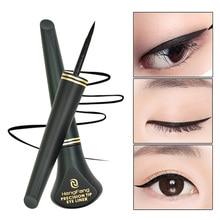 1 PCS HOT Women Cosmetic Beauty Black Eyeliner Waterproof Long lasting Eye Liner Pencil Pen Makeup