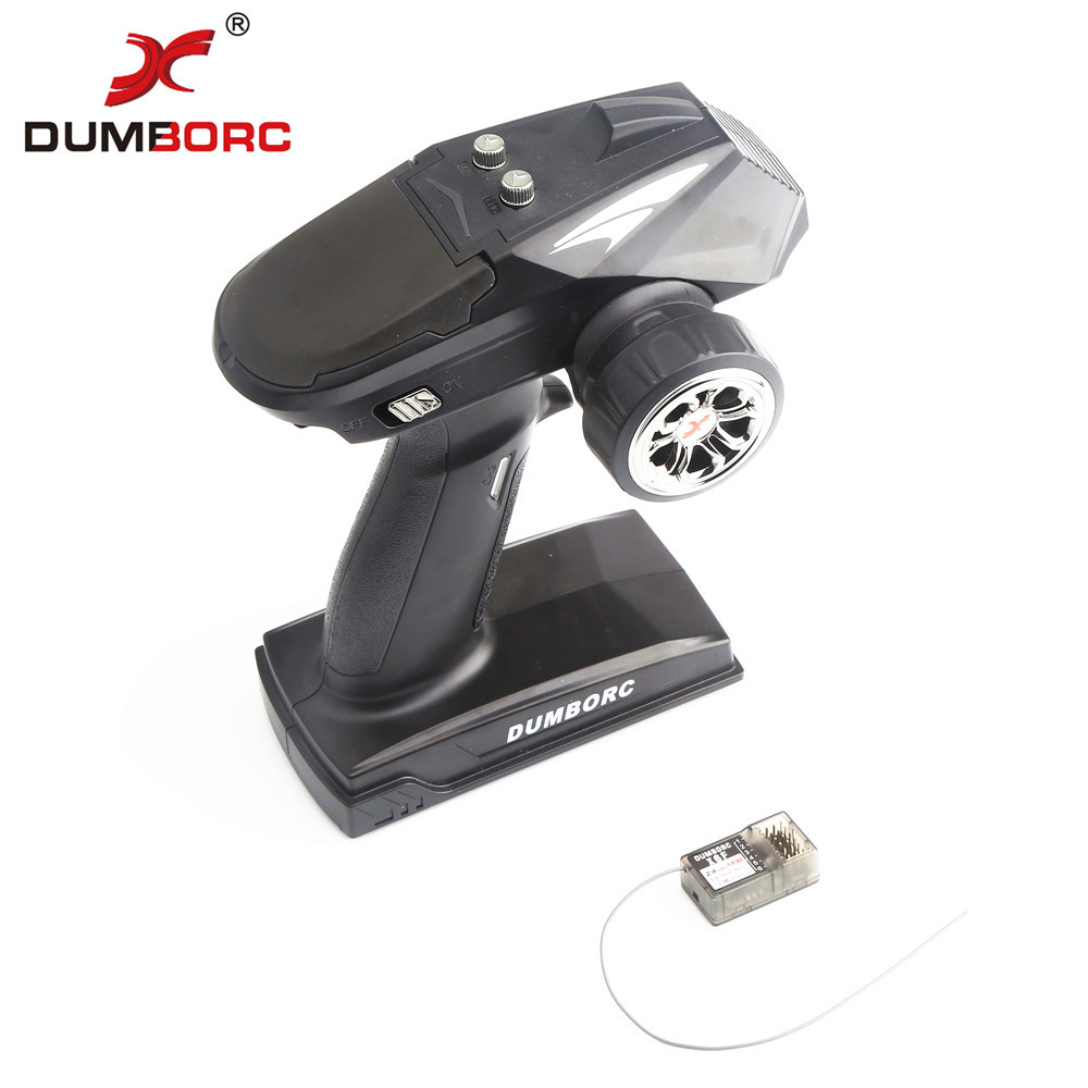 2019 new models DumboRC X6 2.4G 6CH Transmitter with X6FG Receiver for <font><b>JJRC</b></font> <font><b>Q65</b></font> MN-90 Rc Car Boat Tank Model <font><b>Parts</b></font> image