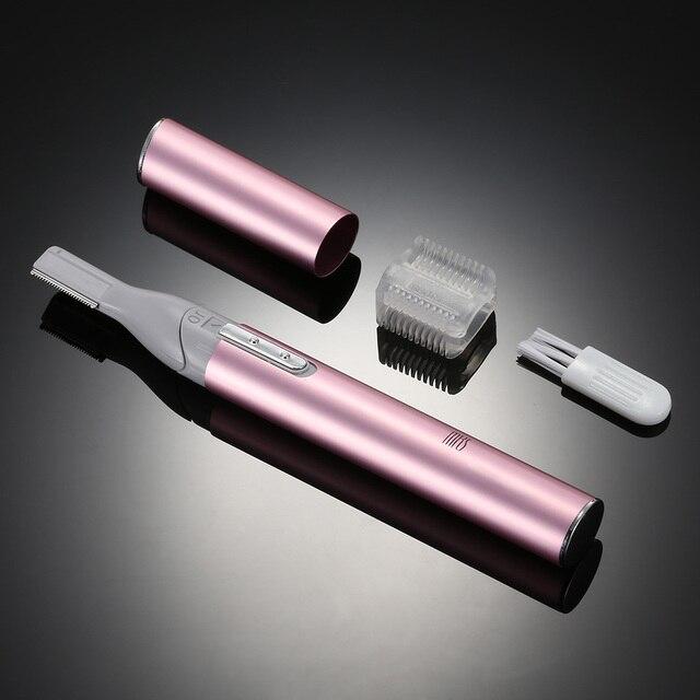 NEW MKS Mini Portable Trimmer Lady Shaver Electric EyeBrow Trimmer Body Shaving Epilator Face Shaving Razor Depilation Beauty
