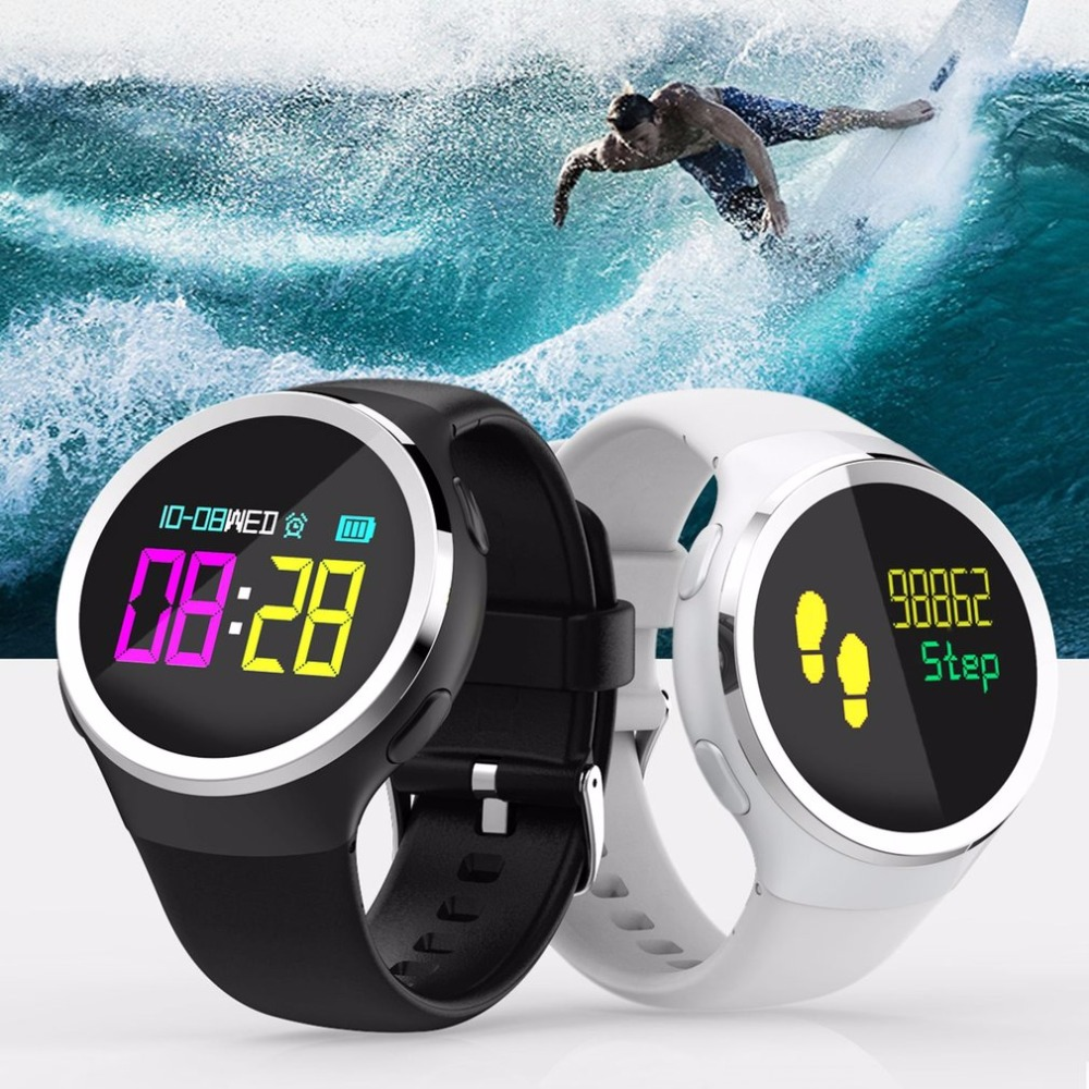 Bluetooth Smart Watch Waterproof Smartwatch Heart Rate Sleep Monitor Pedometer Anti-lost Tracker Sports Watch microwear l1 smartwatch phone mtk2503 1 3 inch bluetooth smart watch gps heart rate measurement pedometer sleep monitor