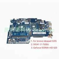 CIUYA YB SA SB SD LA E541P для lenovo ideapad 320 s Материнская плата ноутбука SR341 i7 7500U NVIDIA GeForce 920MX Intel GMA HD 620 работает