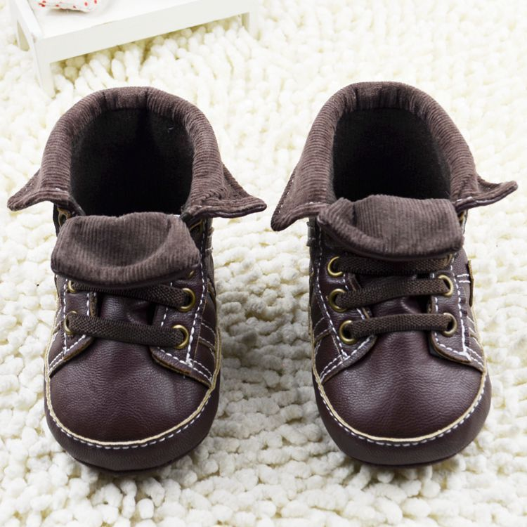 20297555bfbb0 New Canvas Sports Sneakers Newborn Baby Boys Girls First Walkers Shoes  Infant Toddler Soft Bottom Anti slip Prewalker Shoes-in First Walkers from  Mother ...