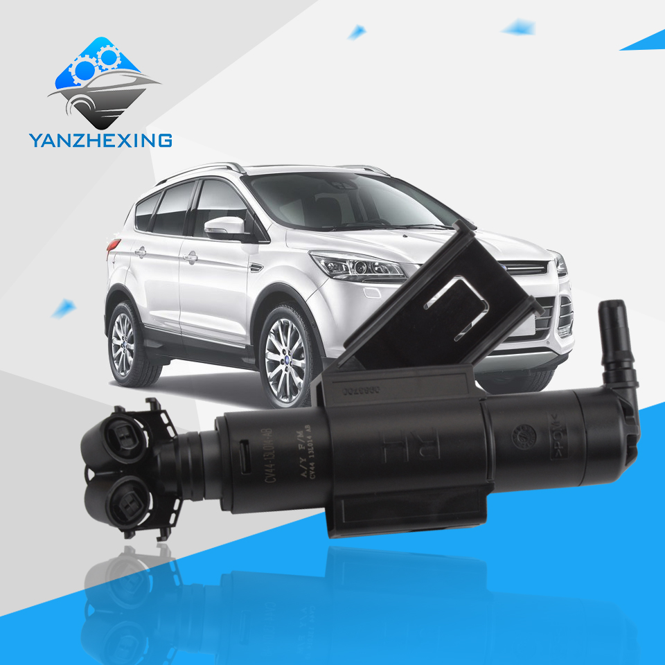 Headlight headlamp washer nozzle electrical motor water spray nozzle for ford kuga 2013 2014 2015 cv44