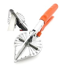 45-180 Degree Multi Angle Mitre Siding Wire Duct Cutter PVC PE Plastic Pipe Hose Scissor Cut Housework home decor Plumbing Tool rdeer 42mm pvc pipe cutter pp r pu pe pipe plastic hose ratcheting cutters stailess steel blade cutting tool