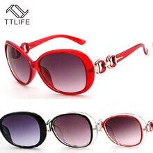 TTLIFE Beauty Vintage Round Female Sunglasses Women Sun Glasses Feminine Black Eyeglasses 2019 New UV Resistanc