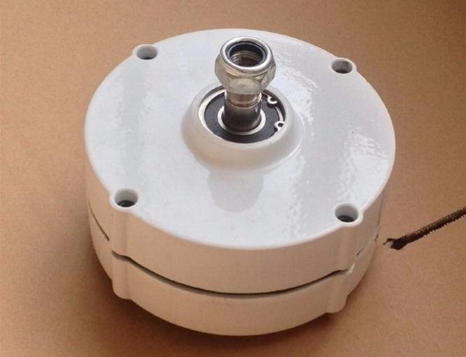 Manufacturer direct marketing 100w 12/24v permanent magnet generator