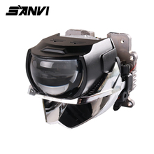 Sanvi H85 H88 H633 Bi Led Projector Lens Headlight 6000K Auto LED With Dual Chips Reflector