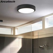 Round Modern Simple 18W LED Ceiling Lights  Atmosphere Lamp Living Room Bedroom balcony Patio Porch Light Fixture NR-42 aisle lights crystal chandeliers modern simple single ceiling lamp balcony lamp hall light led small porch light led fixture led
