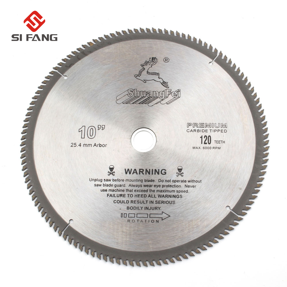 4/6/7/8/9/10 Inch  General Purpose Circular Saw Blade Carbide Tip For Cutting Wood Aluminum 40T/60T/80T/100T/120T