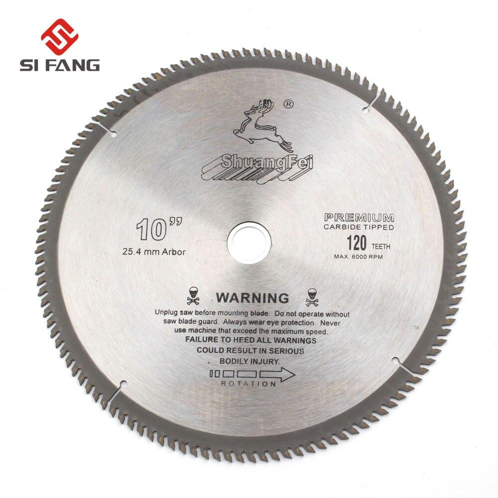 4/6/7/8/9/10 polegadas de uso geral circular viu a ponta do carboneto da lâmina para cortar madeira alumínio 40 t/60 t/80 t/100 t/120 t