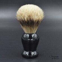 High quality silvertip badger hair shaving brush  resin handle for man