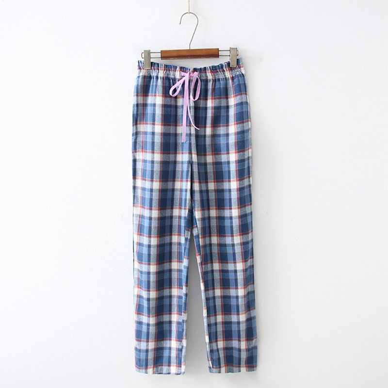 ... 2019 Spring Autumn Women Cotton sleep bottoms Female loose plus size  nighty trousers sleepwear pyjama Ladies ... bf2413b9e