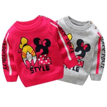 52c23132c BibiCola recién nacido bebé primavera otoño suéter niño moda suave casual suéter  para las niñas bebe