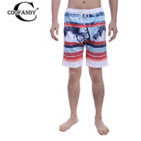 COOFANDY 2017 men's shorts fashion casual men shorts mens designer Aloha print comfort mid-waist Knee Length Loose shorts beach