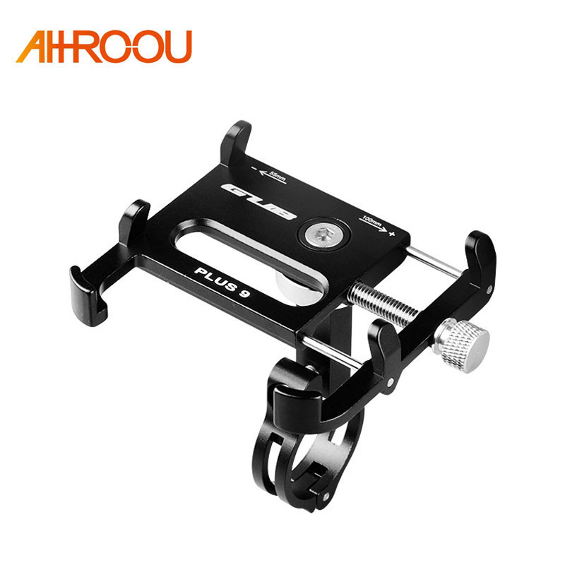Aluminium Alloy Bike Bicycle Universal Cell Phone Holder Motorcycle Handlebar Mount Handle Phone Support For 3.5-6.2 iPhone GPSAluminium Alloy Bike Bicycle Universal Cell Phone Holder Motorcycle Handlebar Mount Handle Phone Support For 3.5-6.2 iPhone GPS