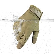 Cycling Gloves Full Finger Skiing Men Women Fleece Hiking Waterproof Screen Touch Motorcycling Glove