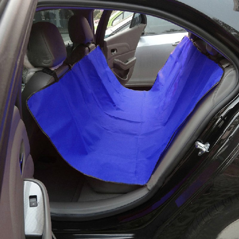 Brandnew Oxford Fabric Car Seat Cover Water-proof Pet Dog Cat Puppy Mat Blanket Blue Red Black
