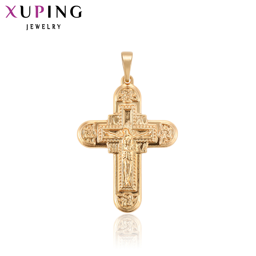 Xuping Gold Color Plated Elegant Jewelry Jesus Seris