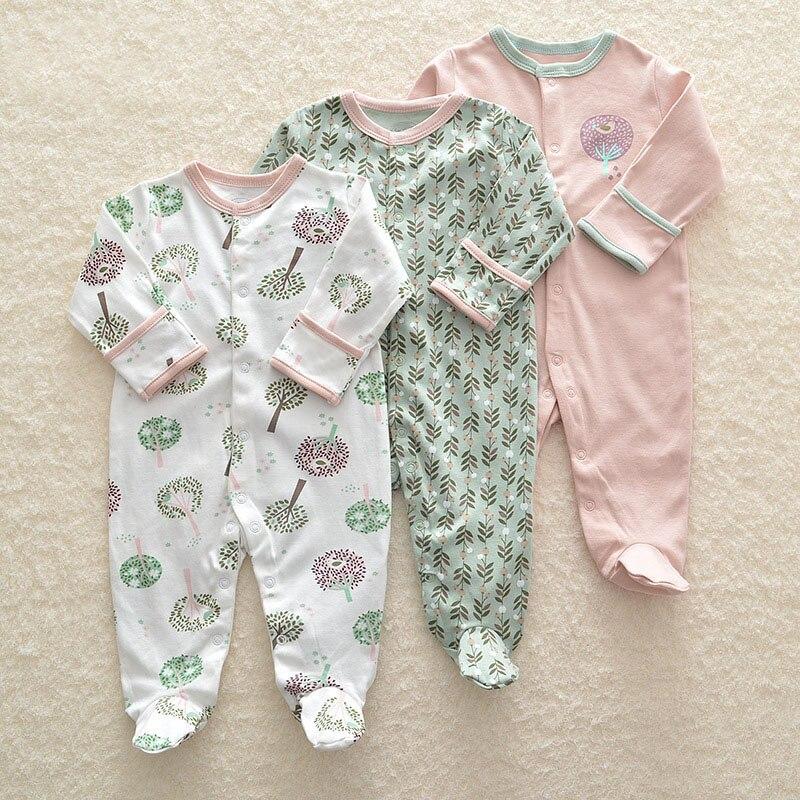 Детский комбинезон с длинным рукавом, для новорожденных 6