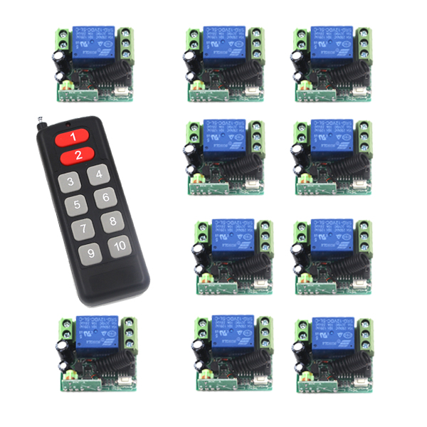 MITI-Gate Door Opener Operator DC 12V 10A Remote Control Relay Output Switch Automatic,Sliding, Doors Remote Coontrol SKU: 5470 romanson tl 9246 mc wh
