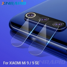 Toughened glass camera lens for xiao mi 9 se screen protector back protective film