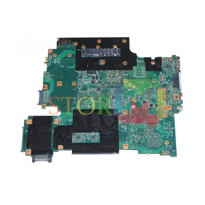 NOKOTION for lenovo thinkpad R61 T61 15.4 laptop motherboard FRU 43Y9047 42W7652 965PM G86-740-A2 128M DDR2 10 8v 5 2ah genuine new laptop battery for lenovo thinkpad t400 t61 t61p r61 r61i r400 14 42t4677 42t4531 42t4644 42t5263 6cell