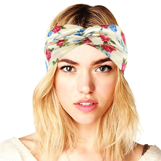 Boho Cotton Twist Headband