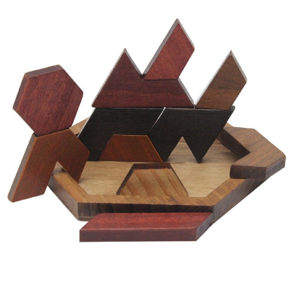 Rompecabezas Divertidos Rompecabezas de Madera Forma Romántica - Juguetes de construcción - foto 2
