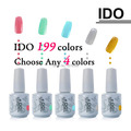 IDO 15ml Gel Polish 302 Colors Primer Foundation Gel Soak Off UV Nail Gel Polish