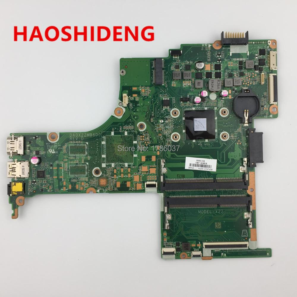 810972-001 810972-501 DA0X22MB6D0 X22 for HP Pavilion Notebook 14-ab series motherboard with A8-7410 CPU.All fully Tested ! 809398 501 809398 601 da0x22mb6d0 x22 for hp pavilion notebook 17 g series motherboard with a6 6310 cpu all fully tested