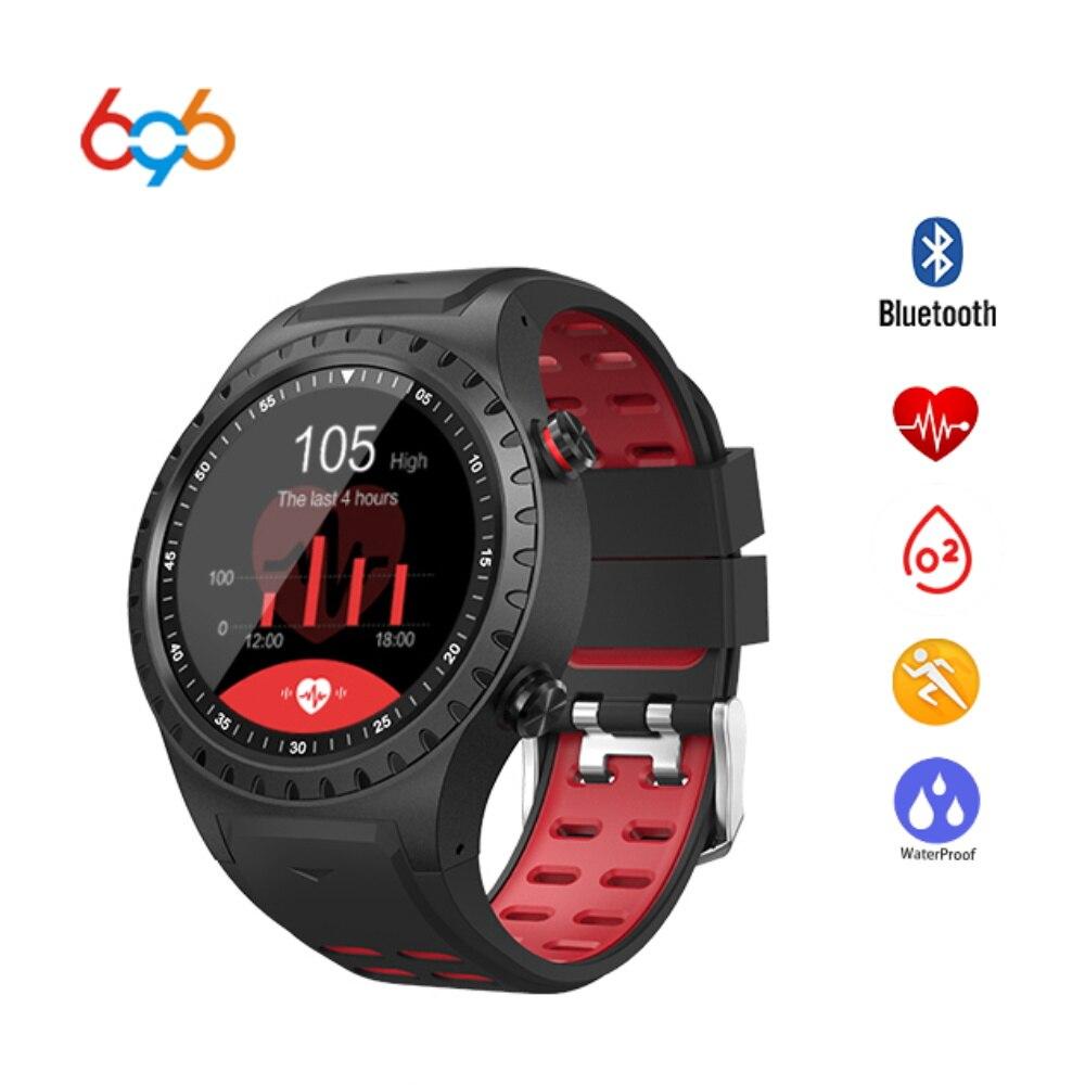 696 GPS Smart Watch M1 Pedometer Fitness Tracker Heart Rate Monitor Smartwatch Sports Waterproof Watch Support SIM TF Card цена 2017