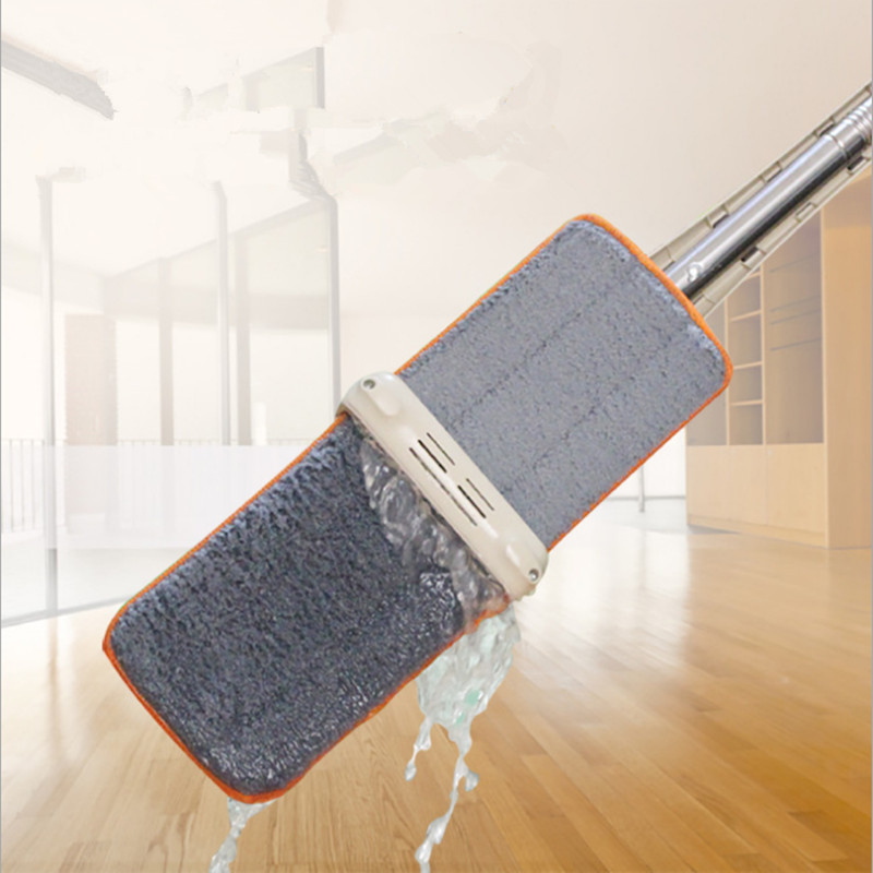 Double Sided Non Hand Washing Flat Mop Wooden Floor Dust Push Home Cleaning Tools