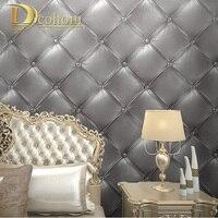 3D Stereo Imitation Flexpack PVC Wallpaper Living Room Bedroom Aisle Hotel TV Background Wall Papel De