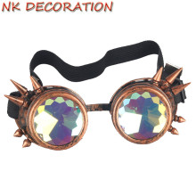 Фотография NK Brand New Kaleidoscope Sunglasses Men Women Designer Kaleidoscope Lens Glasses Steampunk Sunglasses Cosplay Goggles