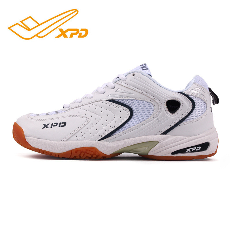 Spanrde Men Women Professional Badminton Shoes Cushioning Breathable Sports Shoe Anti-Slippery Light Sneakers Hard-wearing
