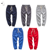 2017 Children Trousers Boys Spring Autumn Striped Casual Outwear Trousers Girls Soft Kids Clothes Children Pants