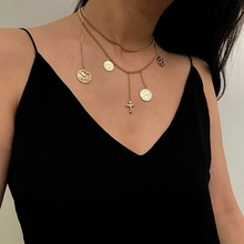 Women Pendant Necklace Sweater Chain Multi-layer Jewelry Gifts Fashion Charm Chains