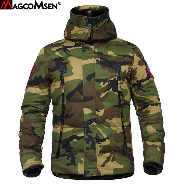 84848b6ecd161 MAGCOMSEN Winter Camouflage Tactical Man Jackets Parka Military Style  Cotton Warm Coats Men Army Clothing Windbreakers