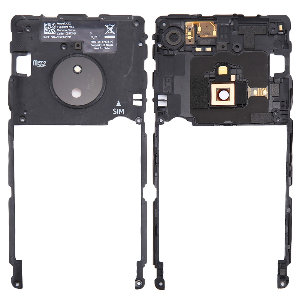 iPartsBuy Middle Frame Bezel for Nokia Lumia 830 Mobile Phone Housings & Frames     - title=